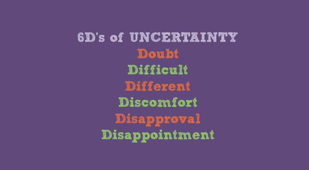 6D's of Uncertainty